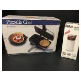 Pizzelle Chef & Coffee Grinder