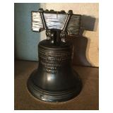 Liberty Bell decanter and pipe ashtray/smoker