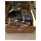 box lot of work gloves