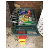 Yard Cart with misc plant food