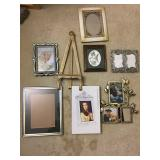 Picture frames and marble lot