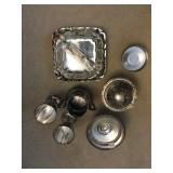 Silver plated Misc lot