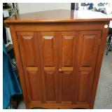 Tom Seely Furniture corner cabinet