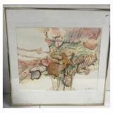 Original John Stengel watercolor
