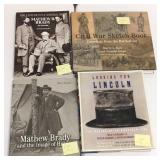 Civil war and Lincoln history books