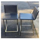 "Modern CB2 24"" counter stools"