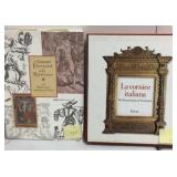 French and Italian books on Renaissance art