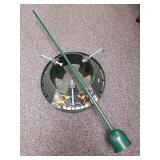 Christmas tree stand and tree watering device