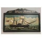Ship wall art