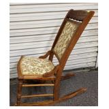 Eastlake style rocking chair