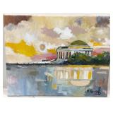 """Jefferson Memorial"" by local artist Mladen Novak"
