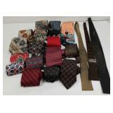 Group of neck ties