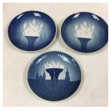 Copenhagen Porcelain collectible plates: Olympics