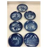 Copenhagen Porcelain Christmas plates