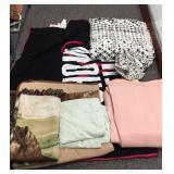 Duvet cover, comforter, blankets, bed items