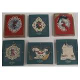 Group of Lenox China ornaments
