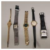 Group of vintage wristwatches, Elgin + others