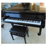 Young Chang Baby Grand Piano w/ bench