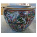 Japanese porcelain planter / jardiniere