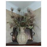 Urn vase w/ arrangement