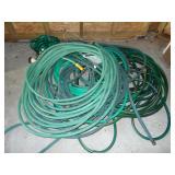 Lot of 4+ garden hoses