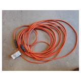 Pair of orange extension cords