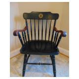 Vintage wooden armchair