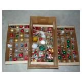 Lot of Christmas ornaments (some vintage)