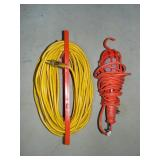 Extension cord and shop lamp
