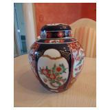 """Oriental urn 10"""" high"""