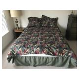 Full size bedframe (mattress & box given as gift)