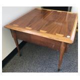 """Mid century Lane """"Acclaim"""" walnut side table"""