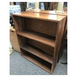 Solid wood bookcase 1 of 2