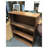 Solid wood bookcase 2 of 2