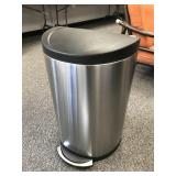 Pedal Operated Stainless Steel Trash Can
