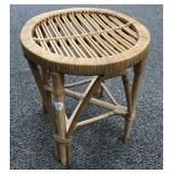 Rattan Stool/ Plant Stand