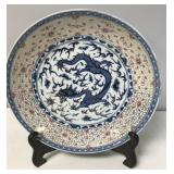 Chinese Imperial 5 Claw Dragon Plate