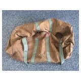 Vintage L L Bean Canvas Duffel Bag