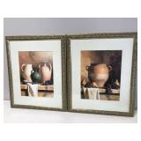 Set of 2 Framed & Matted Wall Décor