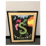Trogdor Framed Poster