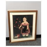 """John Bradley """"Little Girl"""" Framed Print"""