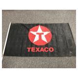 Vintage Texaco gas station flag