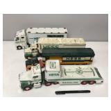 Lot of 4 Hess collectors trucks