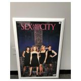 Sex In The City Framed Poster