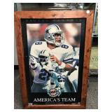1994 Superbowl 28 Framed Poster