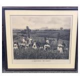 Framed Dutch East Indies Photograph