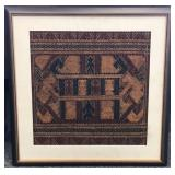 Framed Indonesian Shipcloth