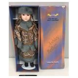 Fine Bisque Porcelain Doll in box