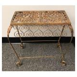 Unique Iron Bench / Stand