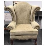 Broyhill Nail Head Wingback Chair 2 of 2
